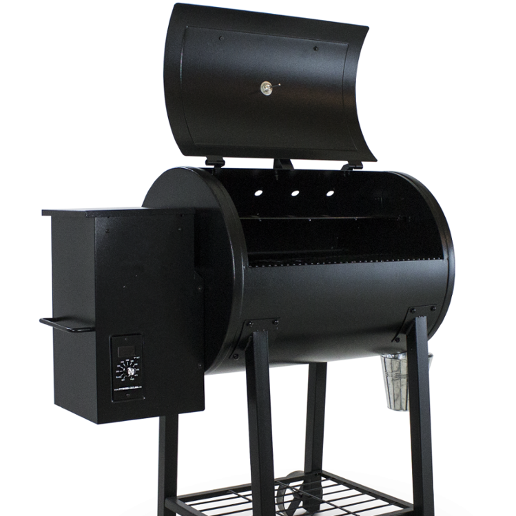 Wood Pellet Smoker Grill With Pid Digital Controller Large Size - Buy  Outdoor Bbq Grill,No Smoke Bbq Grills,Bbq Grill Product on Alibaba com