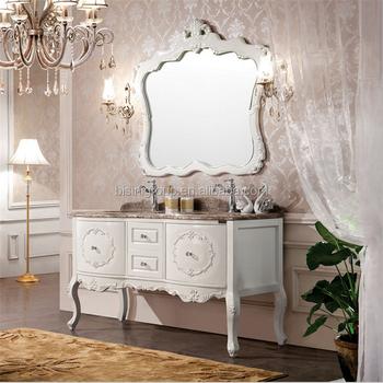 French Antique Style Bathroom Mirror