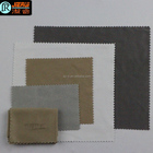Embossing logo brown microfiber Lens cleaning cloth