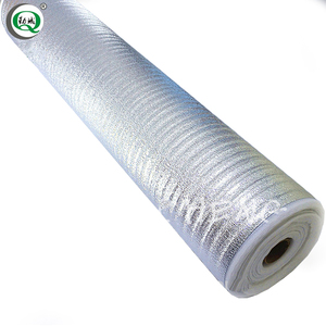 Thermal insulation aluminum foil faced rubber epe foam lowes fire resistant heat insulation sheet