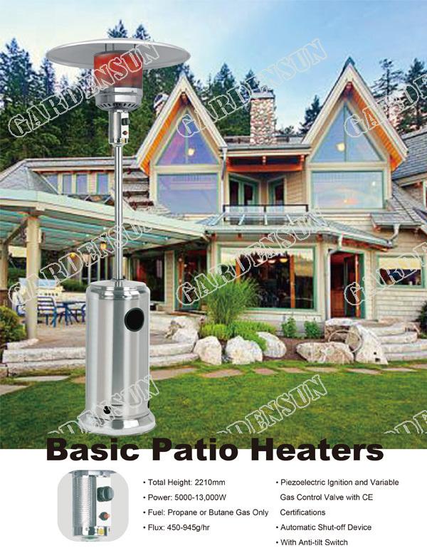 Outdoor Infrared Gas Heater Patio Heaterstainless Steel