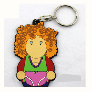 Wholesale Innovative Soft PVC Rubber Keychain For Multiple Keys