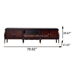 Classical wood TV stand for home furniture