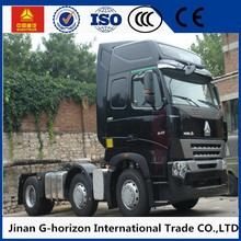 sinotruk howo a7 6x4 motor tractor truck low price for sale