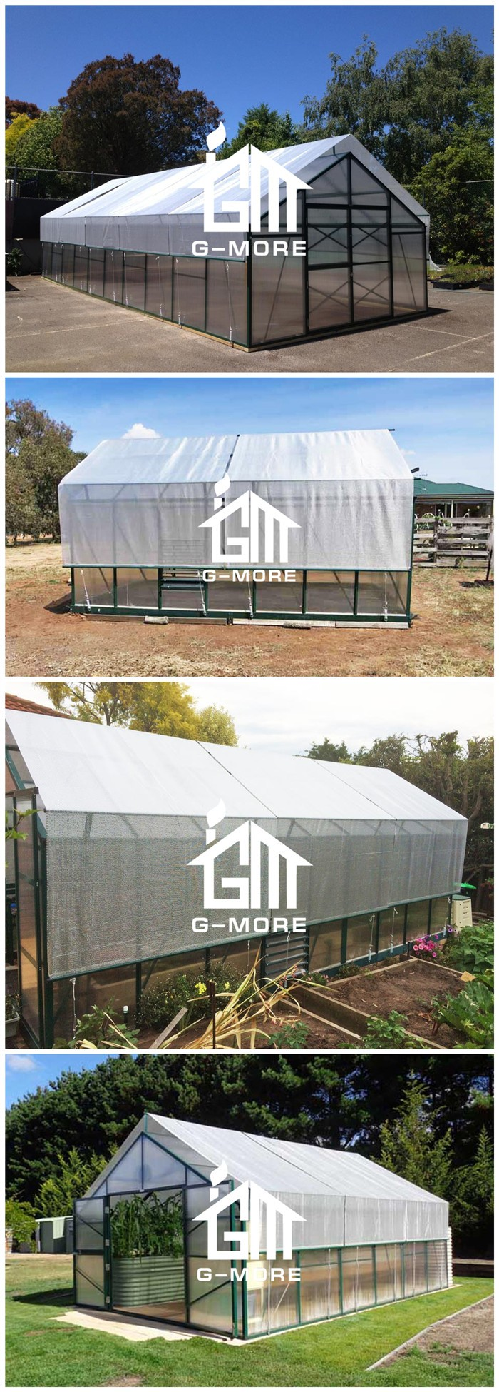 G-MORE High Grade Aluminium Foil Titan/Grange Greenhouse Shading Net (2 meters/set)