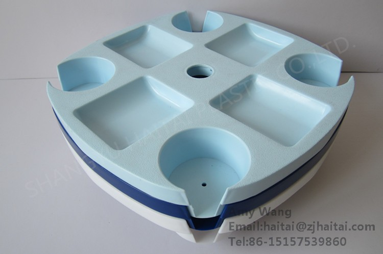beach, Patio umbrella display a variety of food and mobile phone parts Plastic tray,PLASTICS PALLET