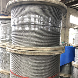 high carbon steel wire rope/stainless steel wire rope manufacturer