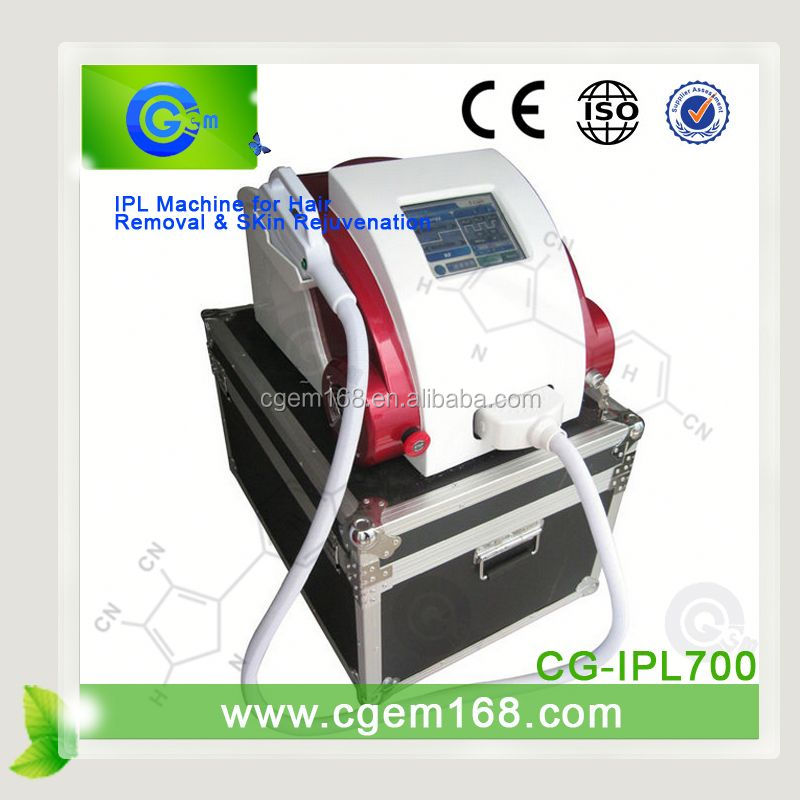 CG-IPL700 (OEM,ODM,CE) ipl filters/ e-light beauty machine for face lift effect lasting