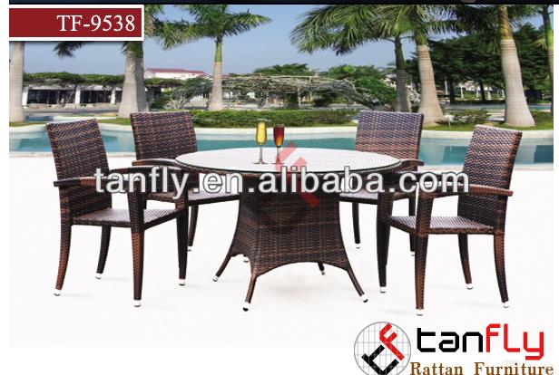 Polyrattan outdoor furniture manufacturer Aluminum f<em></em>rame Outdoor Rattan Chair