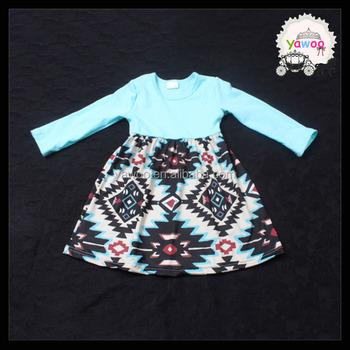 Vestido De Partido Lindo De Los Bebés Diseño Azteca Modelo Vestido ...