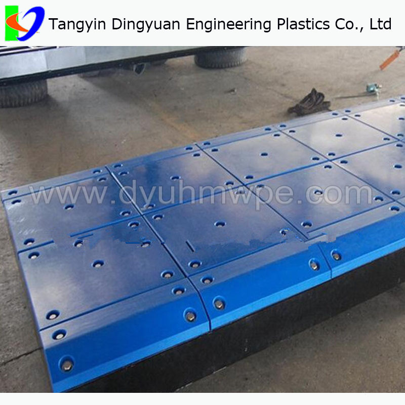 Large Sheet Of Plastic China Custom Uhmw Plastic Toboggan
