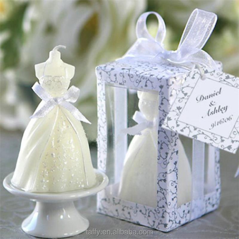 2017 new elegant wedding favor party table decor guest souvenirs 2017 new elegant wedding favor party table decor guest souvenirs return gifts bridal shower favor door gift bride dress candle buy bride dress candle junglespirit Gallery
