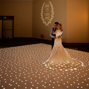 buy cheap light up disco RGB / white led starlit dance floor for sale