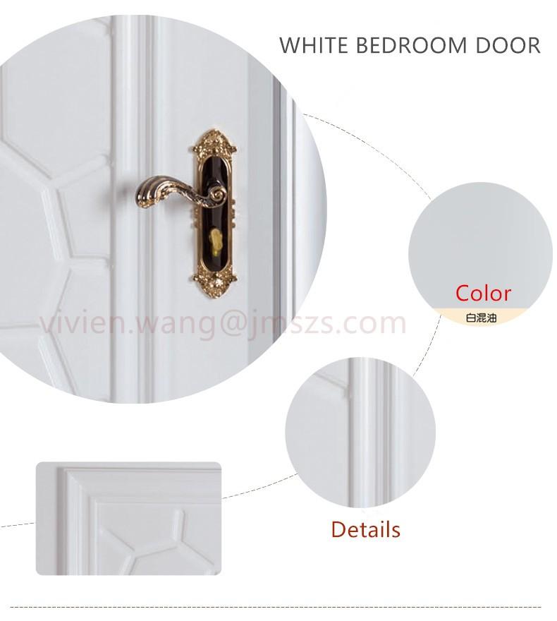 Australia Standard Bedroom Door,White Latest Design Wooden Doors ...