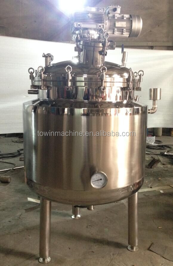 best price stainless steel agitated tank reactor for sale
