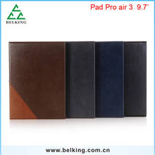 Book Pattern Leather Wallet Tab Case For iPad Pro Air3 Folio PU Tablet Case