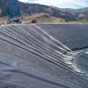 HDPE Geomembrane for poly pond liner