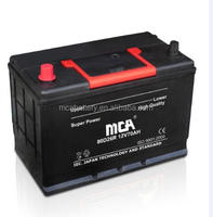 High quality 12v 40ah rc dry charged korean car battery