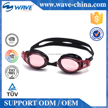 Custom Printing high quality prescription swimming goggles for wholesale