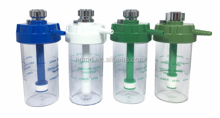 Bed Head Panel Oxygen Flowmeters ACMD Oxygen Flow Meter With Humidifier