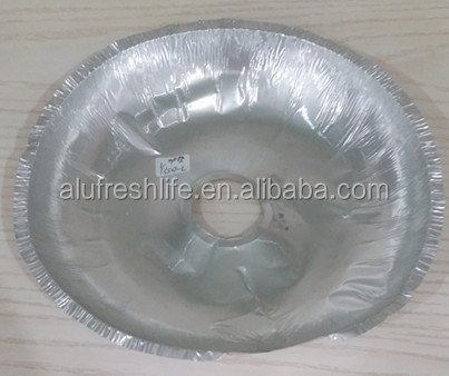 Kitchen utensils and appliances use not leakage one-off aluminum foil furnace mat
