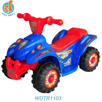 Wdtr1103 New Popular Toy Car Battery 6v Four Wheels Motorcycle For