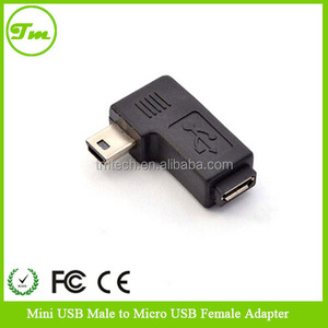 The perfect money saver Mini USB Male to Micro USB Female Adapter Charger Plug