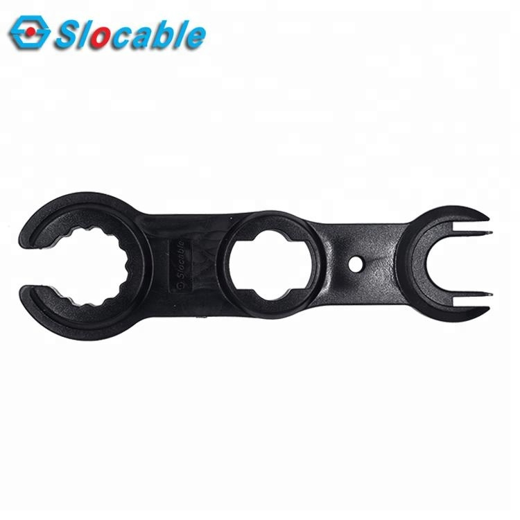 Slocable PPO 플라스틱 8 Shape 손 Tool Spanner 대 한 Wrenching MC4 커넥터