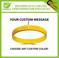 Cheap Customized OEM Silicone Wristband