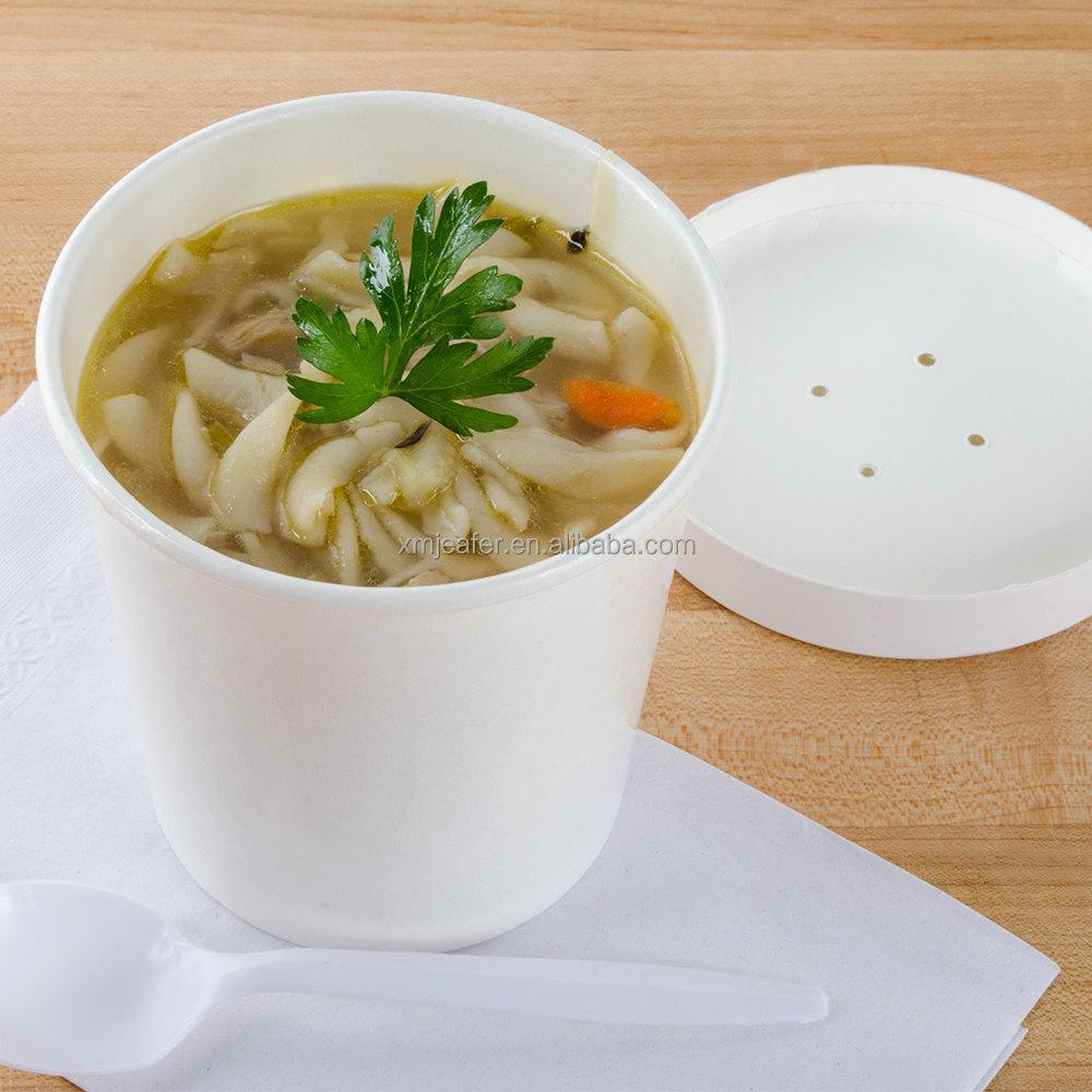 papier jetable emporter soupe chaude contenant bol tasse avec couvercle bol tasse d 39 emballage. Black Bedroom Furniture Sets. Home Design Ideas