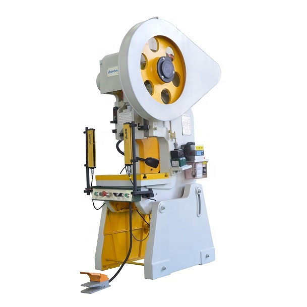 automatic feeding crankshaft punch press with die for cable tray punching and sheet metal slotted
