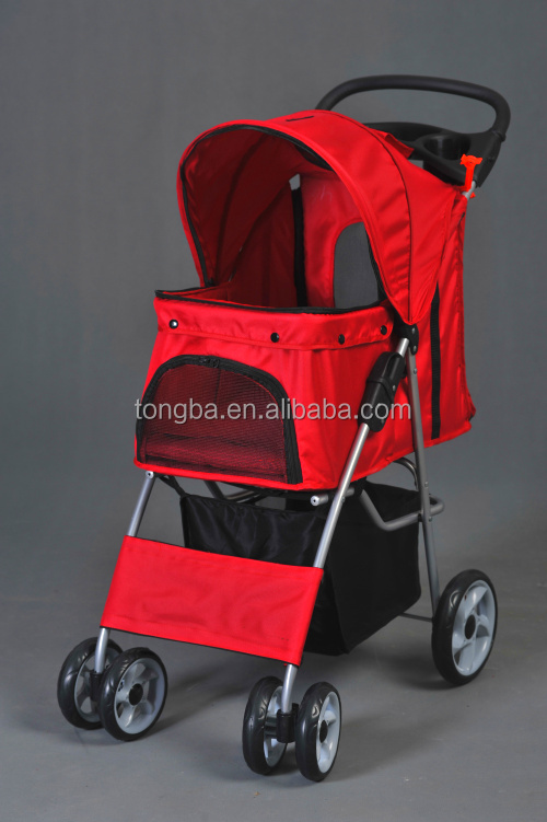 lightweight colorful pet stroller with EN1888 certification, accept OEM mix color