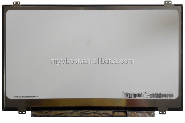 replacement computer spare parts 1920x1080 lcd tv screen N140HGE-EBA Rev.C1
