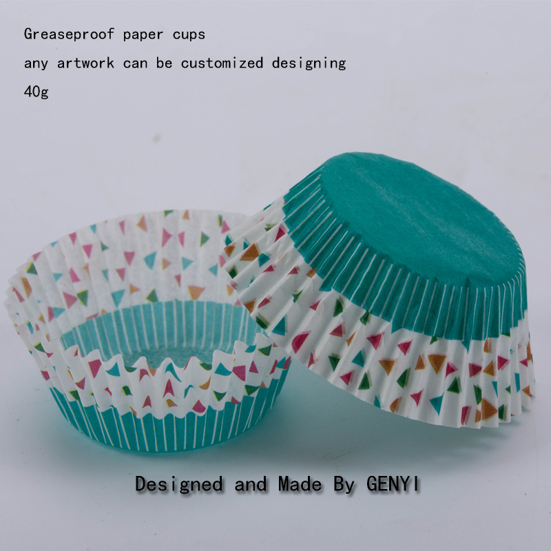 Greaseproof paper cupcake food grade muffin baking cups