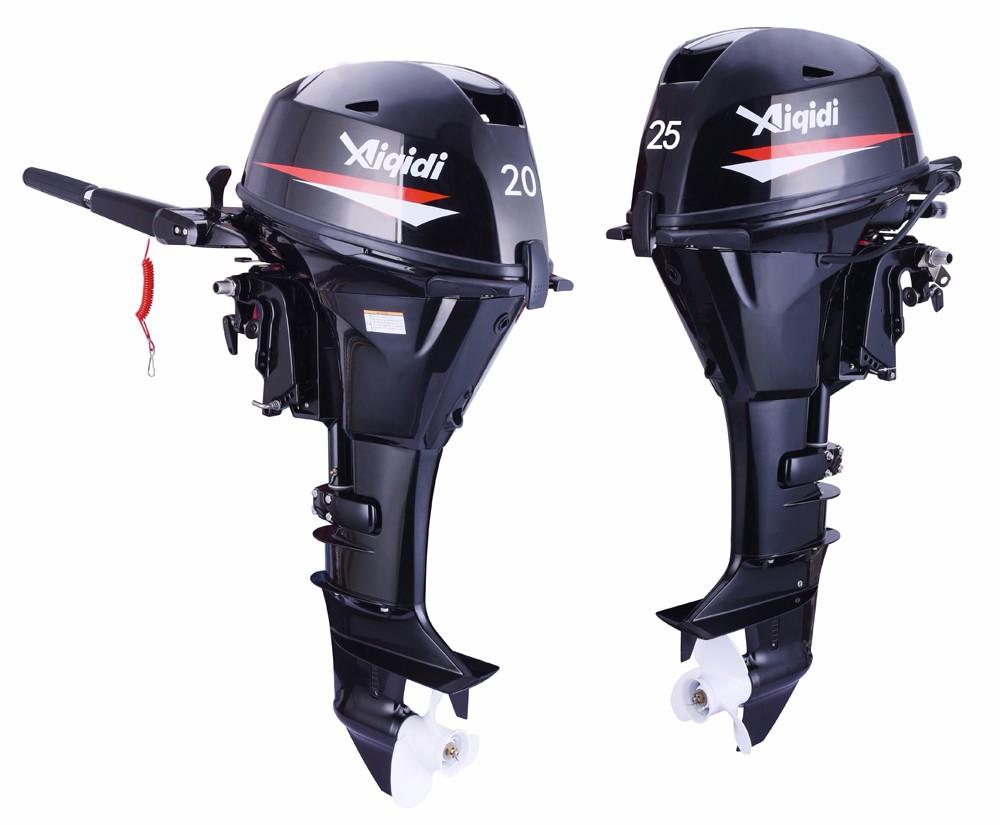 Aiqidi boat engine f20 long shaft sail 4 stroke 20hp for Buy boat motors online