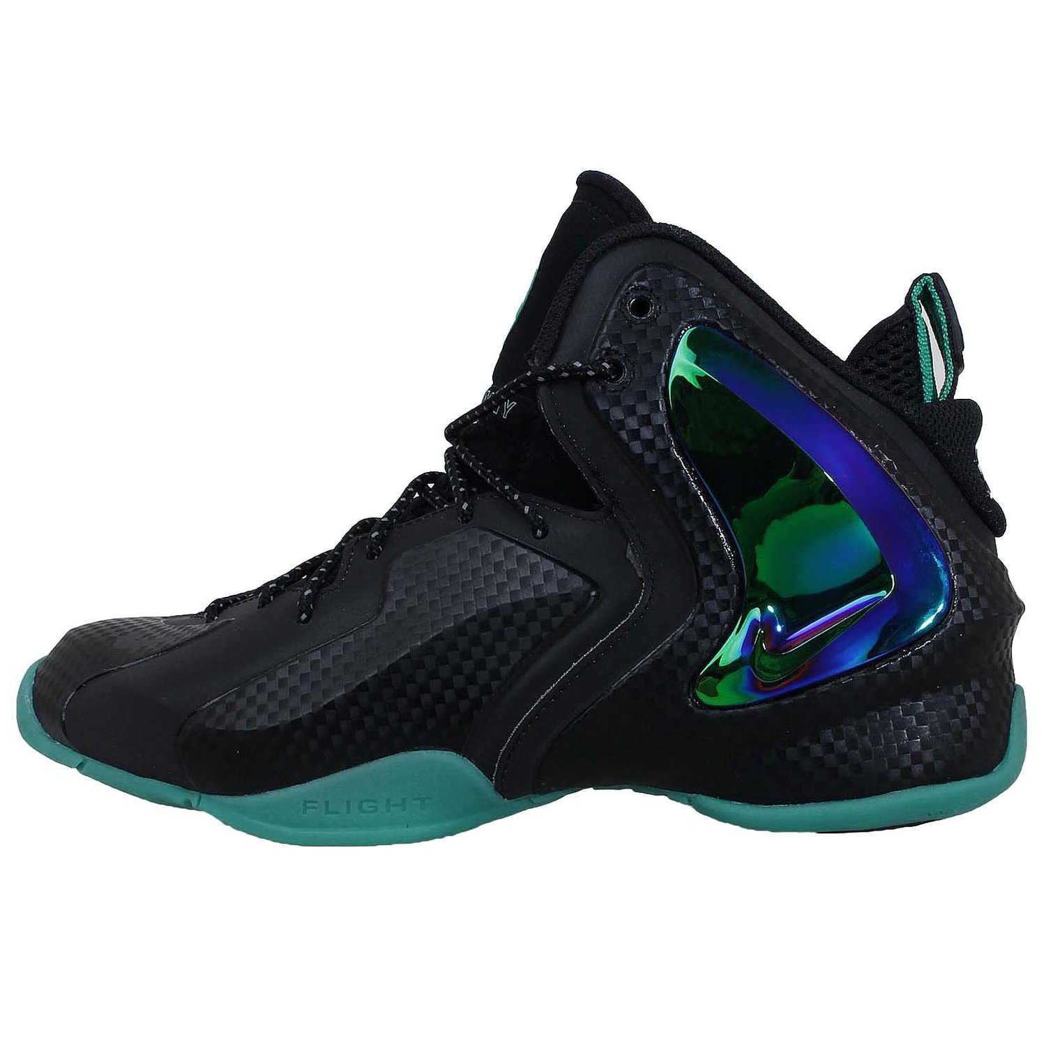 huge discount bb5cd 3b461 Get Quotations · Nike Men s LIL Penny Posite, BLACK BLACK-REFLECT  SILVER-HYPER JADE,