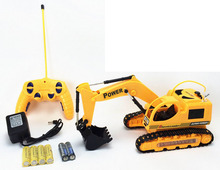 5 Channel RC Berkedip Caterpillar Digger <span class=keywords><strong>Mainan</strong></span>