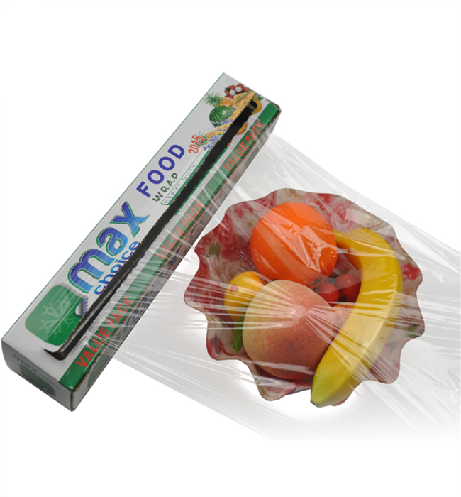 best fresh transparency and pe material cling film