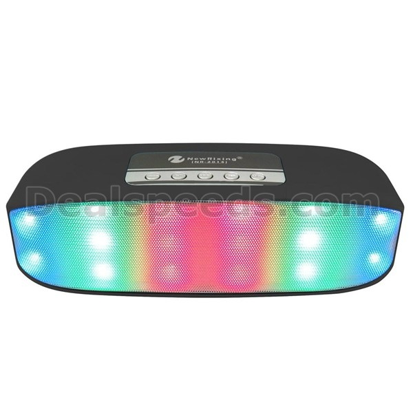2017 Hot Sale Super Bass V2.1 Wireless Speaker with Flashing Light