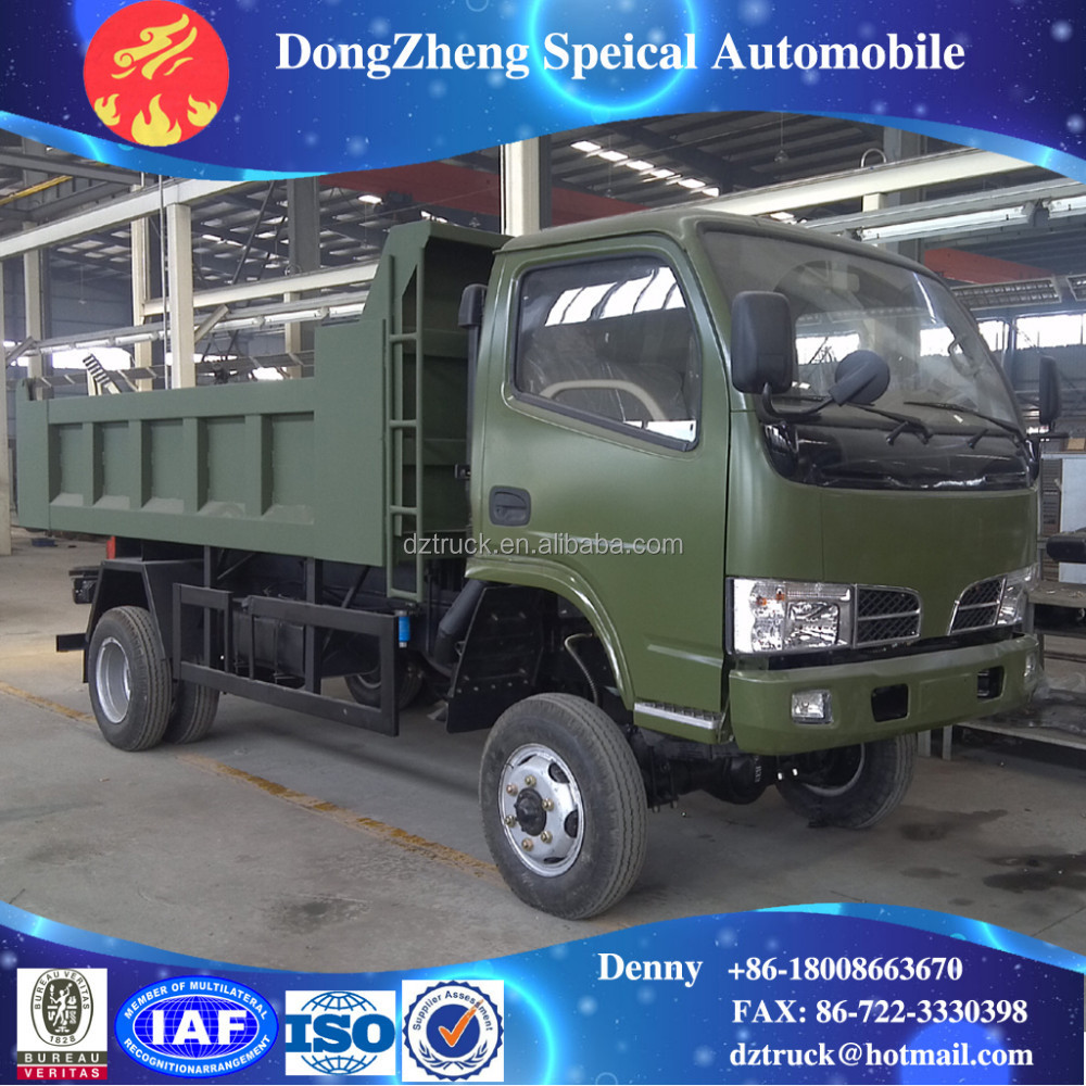 4X4 mini dump truck best price for sale