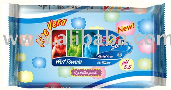 Baby Wet Wipe 40pcs