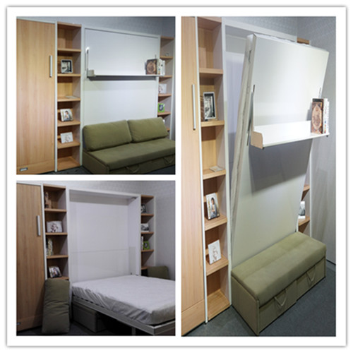 space saving murphy wall bed bedroom furniture folding