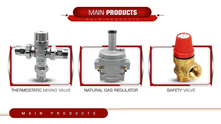 Régulateur de gaz naturel, tuyau Standard européen et indien