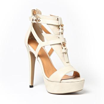 bbfa10552eed69 China manufacturer Ladies Stiletto Summer Shoes Women Sexy High Heel Real  Leather Platform Sandals