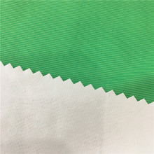 Nylon/polyester PU White Coated Taslan Fabric