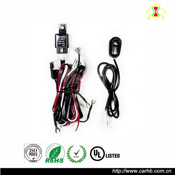 Factory Price Fog Light Wire Harness With Switch Cable