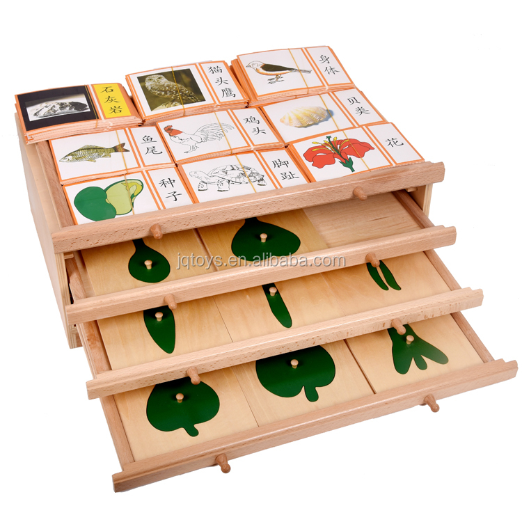 New Design Toddlers Puzzle Blocks Wooden Montessori Toys For 3 Year
