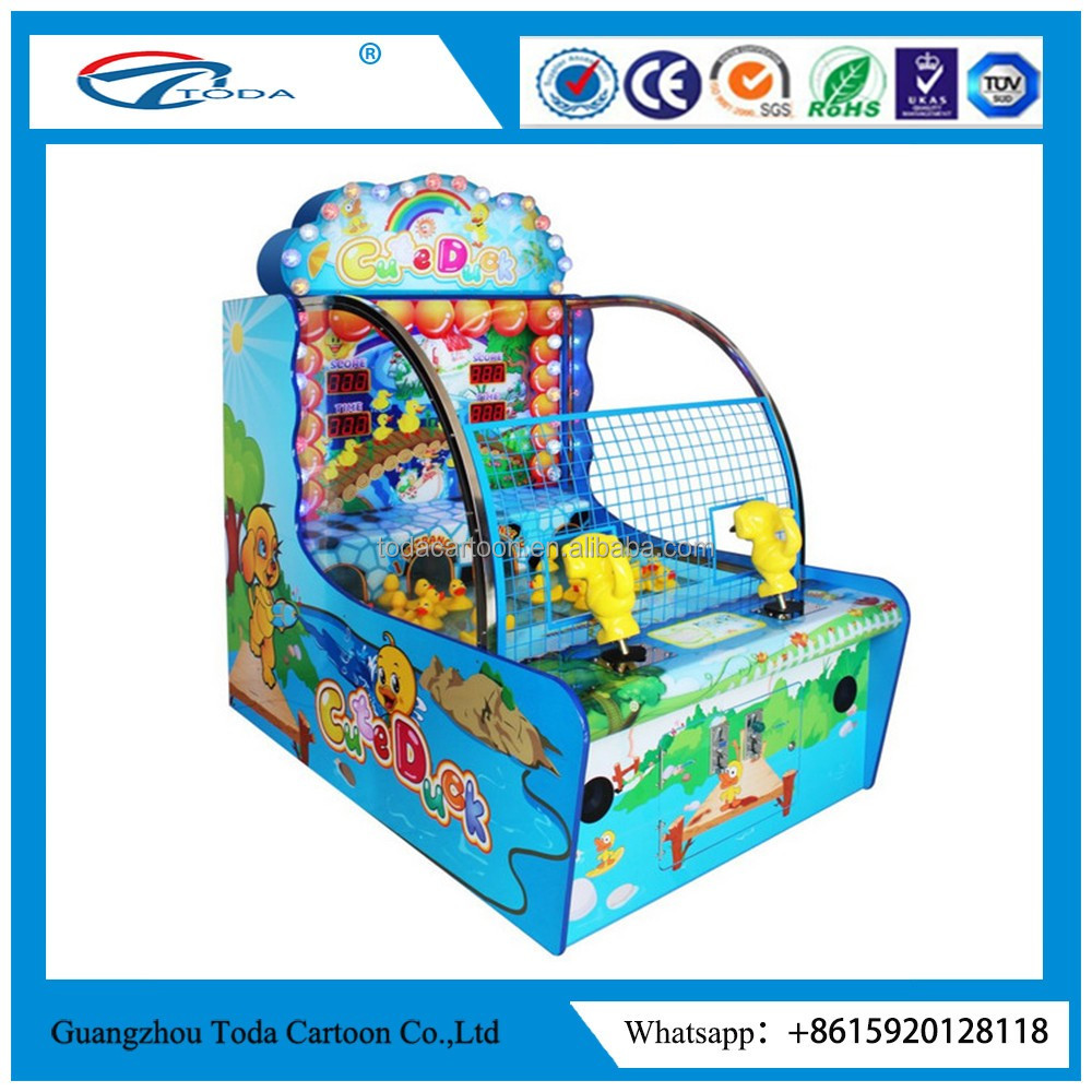 catch water duck cute duck arcade game machine ticket lottery redemption game machine newest product from factory
