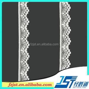 African Velvet Lace Imported Lace Thermal Underwear Fabric For Sale 2.6CM