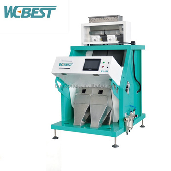 LED Automatic Small Color Sorter CCD Rice Color Sorting Machine With Good Sorter Ejector
